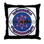 USS HADDOCK Throw Pillow
