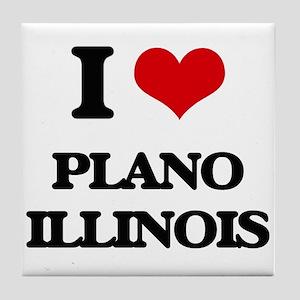 I love Plano Illinois Tile Coaster