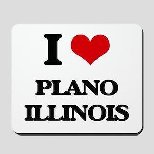 I love Plano Illinois Mousepad
