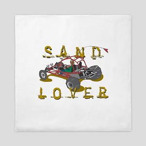 Sand Lover Dune Buggy Queen Duvet