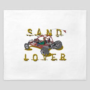 Sand Lover Dune Buggy King Duvet