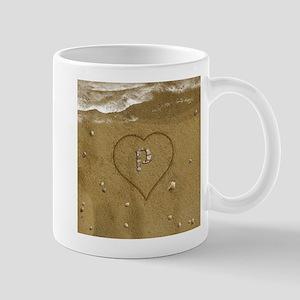 P Beach Love Mug