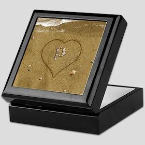 P Beach Love Keepsake Box