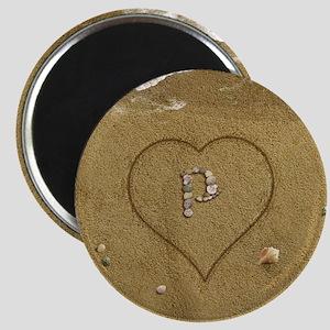 P Beach Love Magnet
