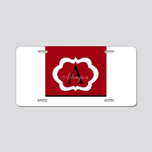 Monogram by LH Aluminum License Plate