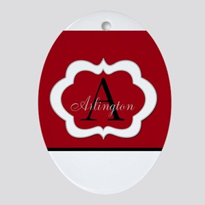 Monogram by LH Ornament (Oval)