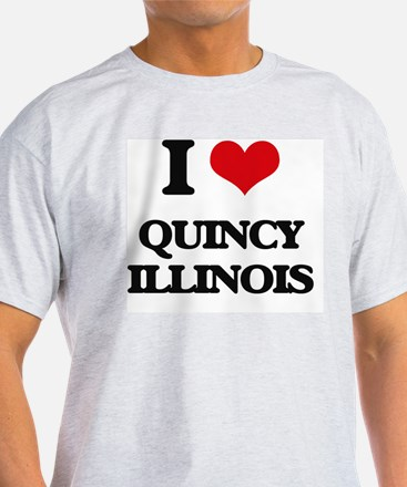 I love Quincy Illinois T-Shirt