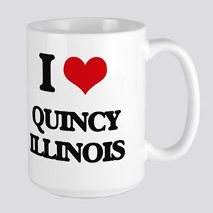 I love Quincy Illinois Mugs