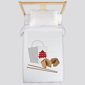 Chinese Take Out Twin Duvet