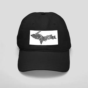 Mehndi Upper Peninsula UP by Kris Baseball Hat