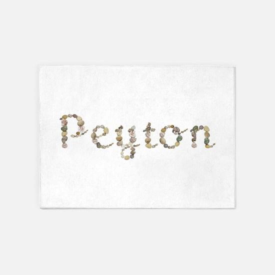 Peyton Seashells 5'x7' Area Rug