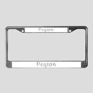 Peyton Seashells License Plate Frame