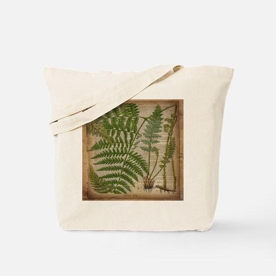 botanical fern leaves Tote Bag