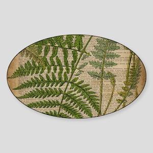botanical fern leave Sticker