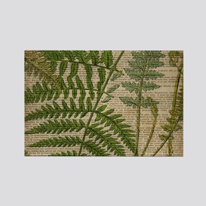 botanical fern leaves Magnets