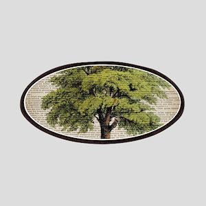 vintage oak tree Patch