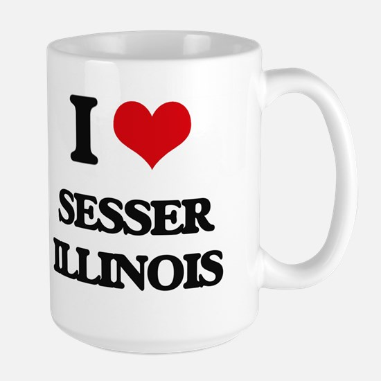 I love Sesser Illinois Mugs