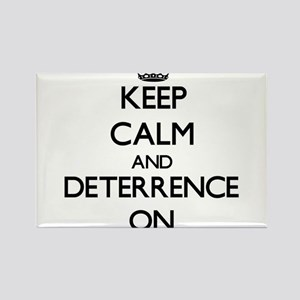 Keep Calm and Deterrence ON Magnets