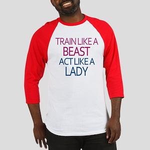 Train Like A Beast Baseball Jersey