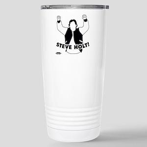 Steve Holt Stainless Steel Travel Mug