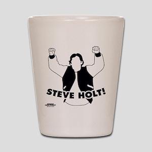 Steve Holt Shot Glass