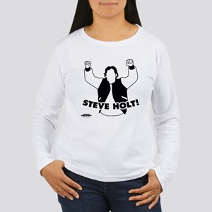 Steve Holt Women's Long Sleeve T-Shirt