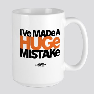 Huge Mistake Large Mug
