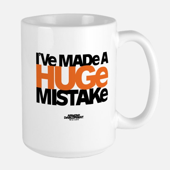 Huge Mistake Large Mug