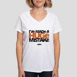 Huge Mistake Women's V-Neck T-Shirt
