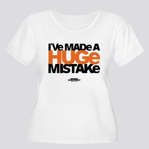 Huge Mistake Women's Plus Size Scoop Neck T-Shirt