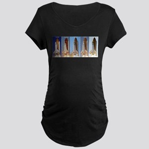space shuttles Maternity T-Shirt