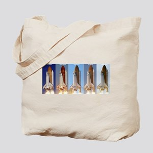 space shuttles Tote Bag