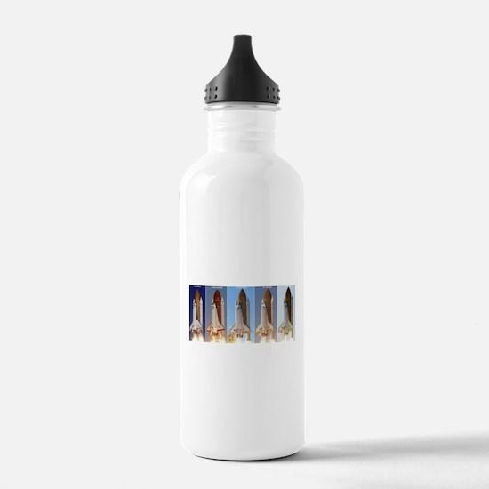 space shuttles Water Bottle