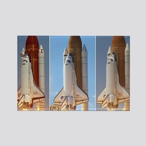 space shuttles Magnets