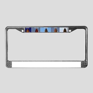 space shuttles License Plate Frame