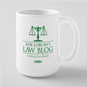 Bob Lablaw's Law Blog Large Mug