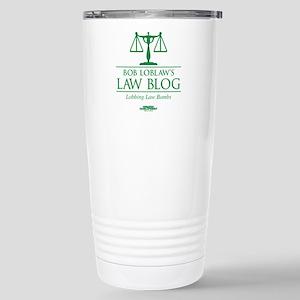 Bob Lablaw's Law Blog Stainless Steel Travel Mug