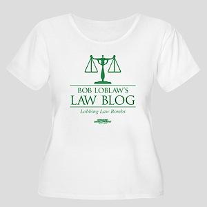 Bob Lablaw's Women's Plus Size Scoop Neck T-Shirt