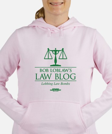 Bob Lablaw's Law Blog Women's Hooded Sweatshirt