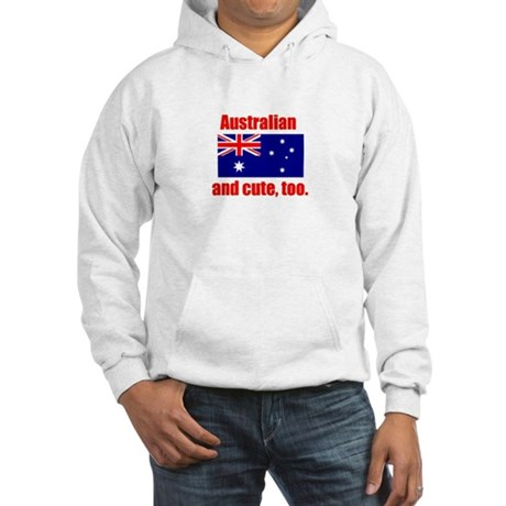 Cute Australian Hooded Sweatshirt