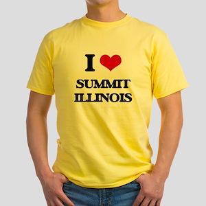 I love Summit Illinois T-Shirt