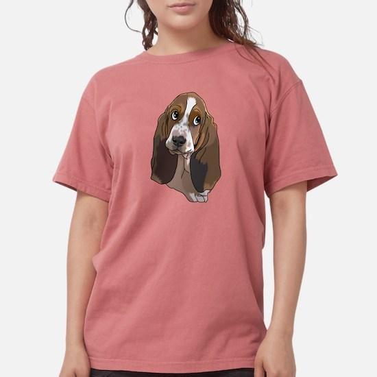 Cute Basset Hound Pup Art Print T-Shirt