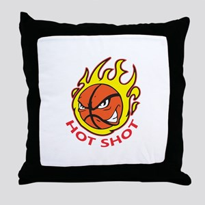 HOT SHOT Throw Pillow
