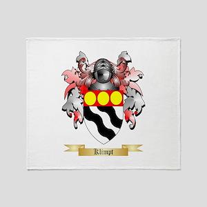 Klimpt Throw Blanket