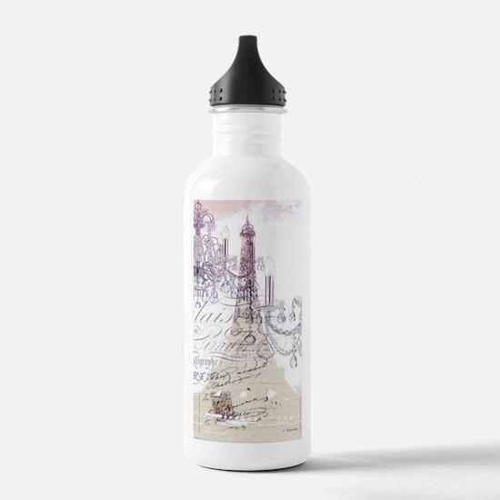 champagne chandelier e Water Bottle