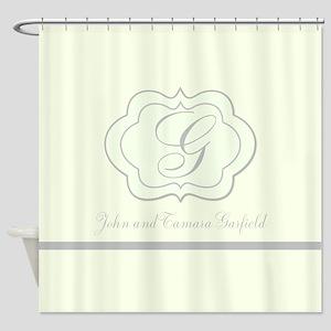 Retro Tile Pattern Shower Curtain