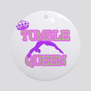 Tumble Queen Ornament (Round)