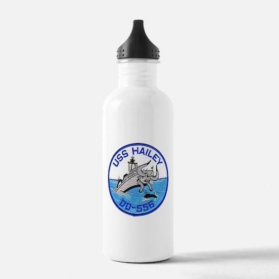 USS HAILEY Sports Water Bottle