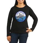 USS HAILEY Women's Long Sleeve Dark T-Shirt
