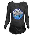 USS HAILEY Long Sleeve Maternity T-Shirt